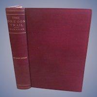The Oregon Trail by Francis Parkman, Publ by A L Burt Company