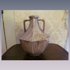 Abingdon Pottery Egyptian 1927 Art Deco Large Vase, Vernon Stockdale,