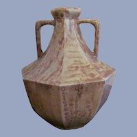 Abingdon Pottery Egyptian 1927 Art Deco Large Vase, Vernon Stockdale,