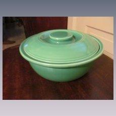 Fiesta Green Covered Casserole Bowl