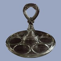 Greensburg #181 Handled Tumbler Goblet Tray