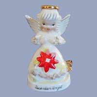 Napco Napcoware Christmas December Angel C-1372