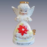 Napco Napcoware Christmas December Angel C-1372