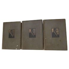 Early 1900's Stories of Sherlock Holmes, Conan Doyles Best Books, 3 Volume Set, Collier & Son