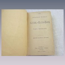 1887 Guide and Hand-book of Useful Information by Western World