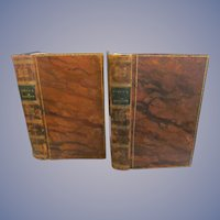 1828 Life of Napoleon Buonaparte 2 Volume Set with a Preliminary View of the French Revolution, Williams