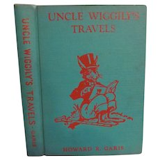 1939 Uncle Wiggily's Travels by Howard R Garis, Illustrated by Elmer Rache, Published by The Platt & Munk Co