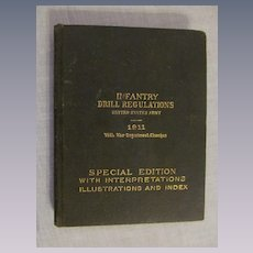 1911 1917  Infantry Drill Regulations, WW1  Army Special Edition Manual
