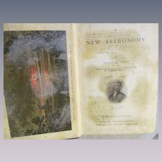 1897 Professor Todd's New Astronomy by David Todd, Published by American Book Co