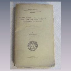 1914 Culture of the Ancient Pueblo Indians, New Mexico and Arizona Expedition