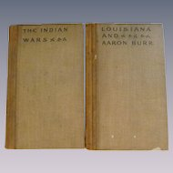 1905 Roosevelt The Winning of the West, The Indian Wars Part 4 & Louisiana and Aaron Burr Part 6