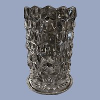 American Fostoria Cylinder Vase, Straight Sided