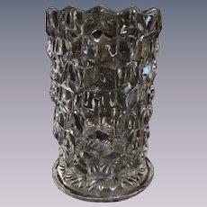 American Fostoria Cylinder Vase, Straight Sided