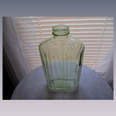 Anchor Hocking Green Water Bottle