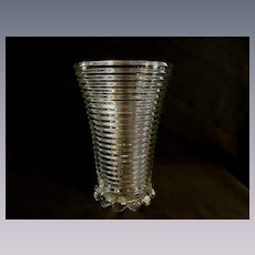 "Hocking Manhattan 8"" Vase"