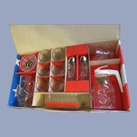 Hocking Early American Prescut EAPC 15pc Tableware Set with Box