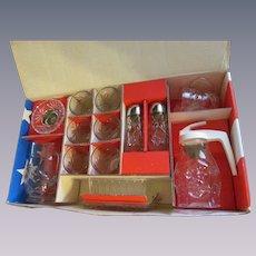 Hocking Early American Prescut EAPC 15pc Tableware Set with Box