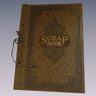 Vintage Scrape Book, Unused
