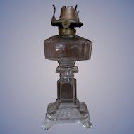 EAPG Post aka Square Panes Kerosene Lamp