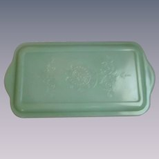 Fire King Jadeite Philbe Refrigerator Dish Lid Only