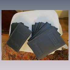 1926 Practical Salesmanship, 1-14 Volumes by National Salesmen's Training Association