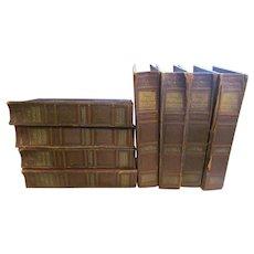 1938 The Popular Educator, Issues 7 thru 54, 8 Book Binders
