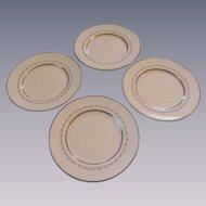 Royal Doulton Tiara H4915 Four Salad Plate