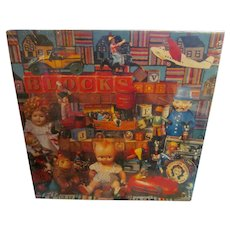 Hallmark 1988 Springboc Puzzle, Playthings from the Past, Toys & Dolls, New Old Stock with Box Cellophane