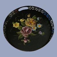 Hand Painted Tole Tray, Fine Arts Studio