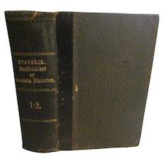 1869 Berattelser ur Swenska Historien, Swedish History by Carl Georg Starback, 1=2.