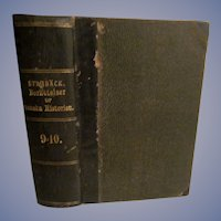 1869 Berattelser ur Swenska Historien, Swedish History by Carl Georg Starback, 9=10.