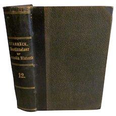 1875 Beratteffer ur Svenska Historien, Swedish History by Carl Georg Starback, 12.