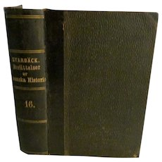 1877 History of Sweden, Berattelser ur Svenska Historien by Carl Georg Starback 16.