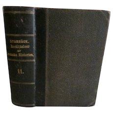 1872 Sweden History, Berattelser ur Svenska Historien by Carl Georg Starback 11.
