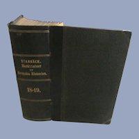 1878 Swedish hIstory, Berattelser ur Svenska Historien by Carl Georg Starback 18=19.