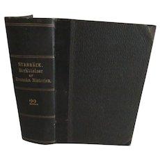 1880 HIstory of Sweden, Berattelser ur Svenska Historien by Carl Georg Starback 22.