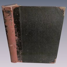 1897 Harper's Weekly Round Table Bound Issues May-Oct