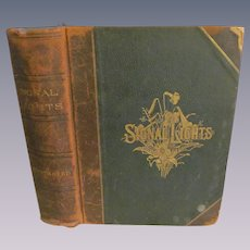 1892 Signal Lights, A Library of Guiding Thoughts by Leading Thinkers of Today, Published by Dickerson Company