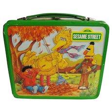 Aladdin Muppets 1983 Sesame St Lunch Box, Bert, Ernie, Big Bird