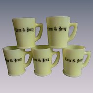 McKee Custard 5 Tom and Jerry Mugs