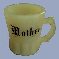 "Custard Mini 2"" Mother Cup Mug Toothpick Holder"