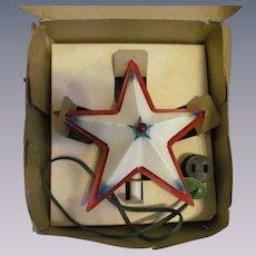 Noma Illuminated Christmas Tree Metal Star with Box
