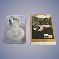 Keepsake 1993 Star Trek USS Enterprise Ornament, Blinking Lights