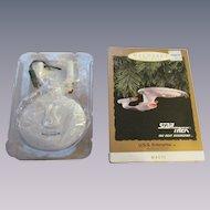 Keepsake 1993 Star Trek USS Enterprise Ornament, Blinking Lights