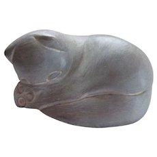 "Isabel Bloom Kitty Cat  5 1/2"" Sculpture Figure"