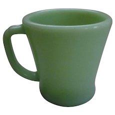 Fire King Hocking Jadeite Flat Bottom Mug