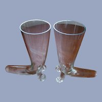"Cornucopia, Horn of Plenty 8""  Vases Set"