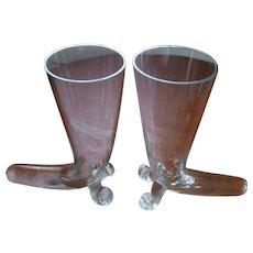 "Cornucopia, Horn of Plenty 8""  Vases Set"