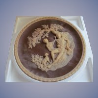 1978 Incolay Stone Cameo Collectors Plate Series, A Thing of Beauty with Paperwork