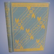 Learning French Textbook, 1929 Les Droles Aventures De Renard, Dust Jacket, Publ by The University of Chicago Press